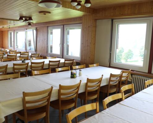 Speisesaal Hüttenberg Lodge - Braunwald