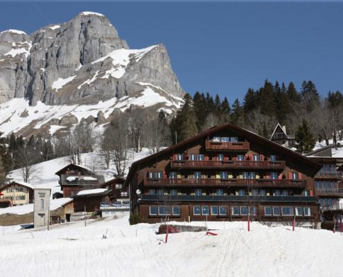 Hüttenberg Lodge im Winter